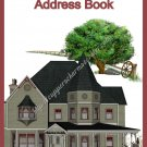 "Address Book 5"" X 7"" Size ~  Historical Soceity Theme"