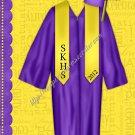 "Brag Book 5"" X 7"" Size ~ Yellow & Purple Senior Brag Book"