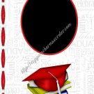 """Brag Book 5"""" X 7"""" Size ~ Red Senior Brag Book"""