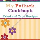 "Recipe Book 5"" X 7"" Size ~ Potluck Recipes"