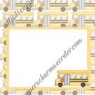School Days ~ Graduation ~  MINI Candy Bar Wrapper ~ School Bus