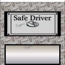 Safe Trucker #1 Standard Size Candy Bar Wrapper