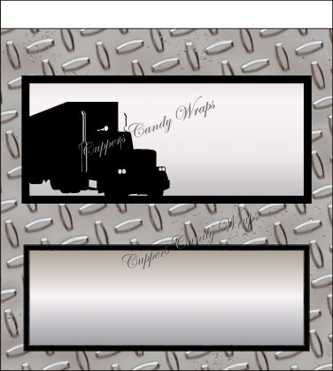 Safe Trucker #2 Standard Size Candy Bar Wrapper