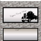 Safe Trucker #3 Standard Size Candy Bar Wrapper