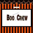 Boo Crew #4 Halloween Gallon Can Set