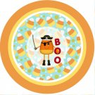 Candy Corn Pirate Halloween Cupcake Picks & Toppers ~ 3 Dozen