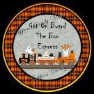 Boo Express  Halloween Cupcake Picks & Toppers