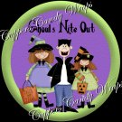 Ghouls Night Out Halloween Cupcake Picks & Toppers