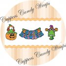 A Frogs Halloween  Cupcake Picks & Toppers