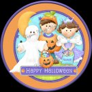 Ghostly Greetings Halloween  Cupcake Picks & Toppers