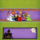 Goblin Parade Halloween Standard Size Candy Bar Wrapper
