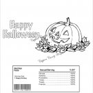 Color Me Jack O'Lantern Halloween Standard Size Candy Bar Wrapper