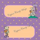 I Miss My Mummy Halloween Standard Size Candy Bar Wrapper