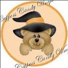 Halloween Teddy Cupcake Picks & Toppers