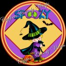 Just Say Boo Halloween Cupcake Picks & Toppers