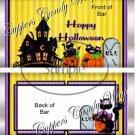 RIP Cats Halloween Standard Size Candy Bar Wrapper