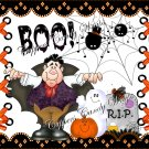RIP Halloween Gallon Can Set