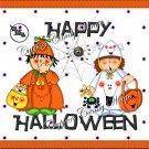 Treat Night Halloween Gallon Can Set