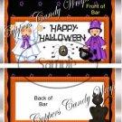 Treat Night House Halloween Standard Size Candy Bar Wrapper