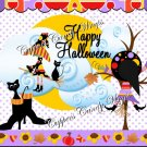 Witches Splat Halloween Gallon Can Set