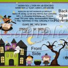 Witchey Poo Halloween Bag Topper ~ Personalize It (Optional)