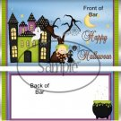 Witchey Poo Halloween Standard Size Candy Bar Wrapper
