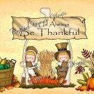 Be Thankful Thanksgiving Pint Glass Jar Set