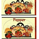 Give Thanks 2  Thanksgiving Salt & Pepper Wrappers