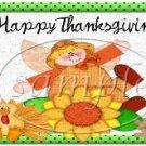 Happy Season Thanksgiving Pint Glass Jar Set