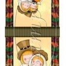 Let's Give Thanks Thanksgiving  Mintbook Matchbook Wrapper  ~ 3 Dozen