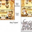 Let's Give Thanks Thanksgiving  Bag Topper