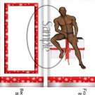 Adult Themed Standard Size Candy Bar Wrapper #2 African American (Black)
