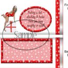 Adult Themed Standard Size Candy Bar Wrapper #3