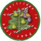 12 Days of Christmas Cupcake Food Picks & Toppers