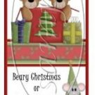 Have Yourself a Beary Christmas ~ 3 Dozen MINI Candy Bar Wrapper