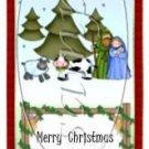 A Child is Born Christmas ~ 3 Dozen MINI Candy Bar Wrapper