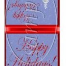 Farm House Holiday Christmas Mintbook Matchbook Wrapper  ~ 3 Dozen