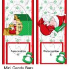 Baby's 1st Christmas ~ MINI Candy Bar Wrapper