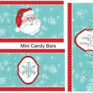Making a List..... Christmas ~ MINI Candy Bar Wrapper