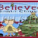 I Believe in Santa Christmas Gallon Can Set