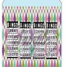 Bingo Card #1 No Daubs Pint Glass Jar Set
