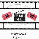 Admit One Movie Night Popcorn Wrapper ~ 1 Dozen
