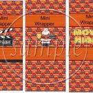 Happy Holidays  Movie Night ~  MINI Candy Bar Wrapper