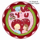 Pink Be Mine Valentine ~ Valentine's Day Cupcake Picks & Toppers