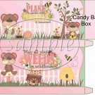 Plant a Graden Friendship  Standard Size Candy Bar Box