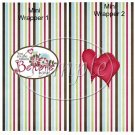 Believe in Love  ~ Valentine's Day ~  MINI Candy Bar Wrapper