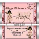 Sweet Angel ~ Valentine's Day Standard Size Candy Bar Wrapper  ~ Set of 1 Dozen SOE