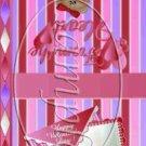 Triple Hearts ~ Valentine's Day Mint Book Matchbook Wrapper ~ 3 Dozen