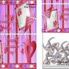 Triple Hearts ~ Valentine's Day Bag Topper