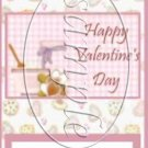 Valentines Cookies ~ Valentine's Day ~ MINI Candy Bar Wrapper